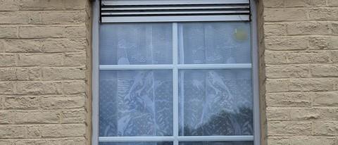 Firany czy puste okna