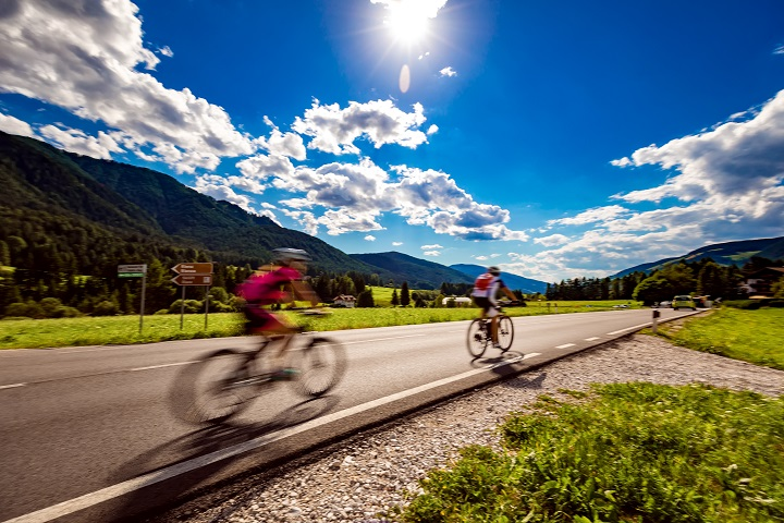 Jazda na rowerze szosowym